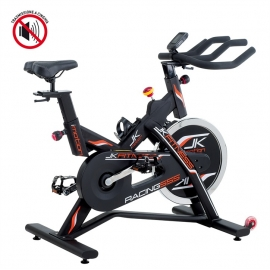 JK FITNESS SPIN BIKE NEW RACING 555 + RICEVITORE CARDIO POLAR