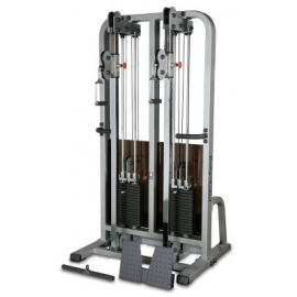 BODY SOLID PRO CLUB LINE DUAL CABLE COLUMN SDC2000