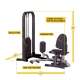 BODY SOLID INNER & OUTER THIGH MACHINE GIOT-STK
