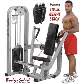 BODY SOLID PRO CLUB LINE CHEST PRESS SBP100G/2